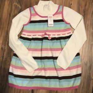 Sz 10-12 sweater dress NWT Very Cute